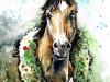 Christmas Horse med